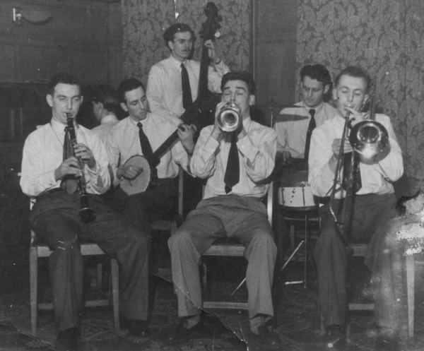 Smoky City Stompers - Bootle St, Manchester, 1951