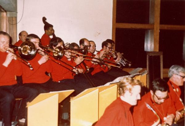 Alan Hare Big Band - Manchester City Social Club, Moss Side, Manchester, mid 70s